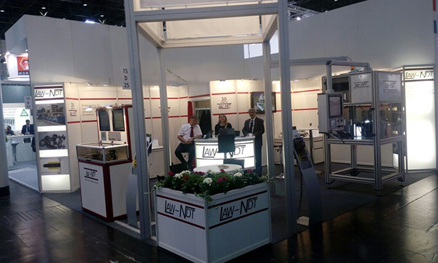 We were on the LAW-NDT Mess-und Prüfsysteme GmbH Stand at the International Wire Düsseldorf, Germany Fair between 16-20 April 2018